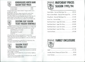 Ticket prices 1994 (2)