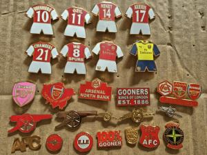 Arsenal badgepins 2