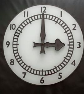 The Arsenal clock now on sale as a wall clock