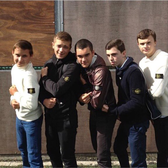 Football Hooligans Stone Island