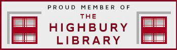 Proud Member Of The Highbury Library