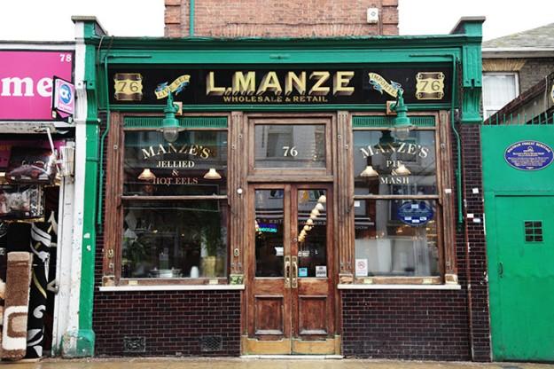 L Manze in Walthamstow