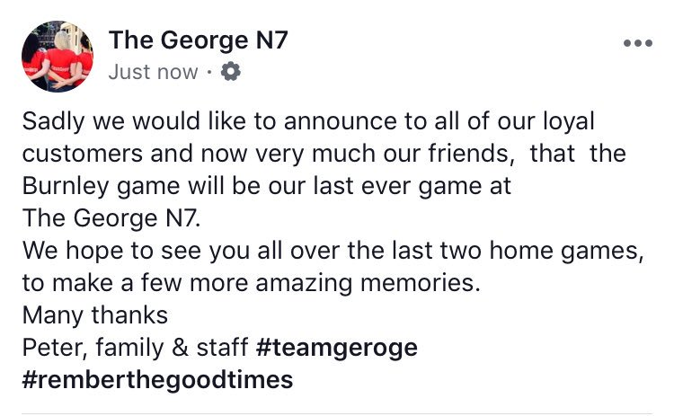 The George joins a long list of Holloway pubs by closing down | She ...